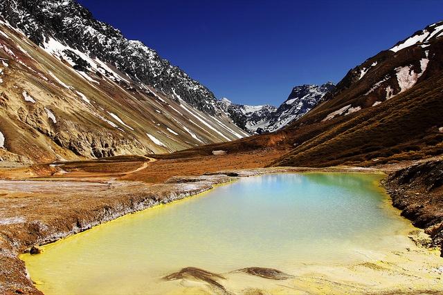 Cajon del Maipo, Andes, Chile by p.folk