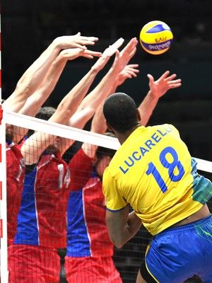 Lucarelli, Brasil X Rússia vôlei (Foto: André Durão / Globoesporte.com / Nopp)