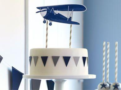 Airplane Cake Topper   Pottery Barn Kids