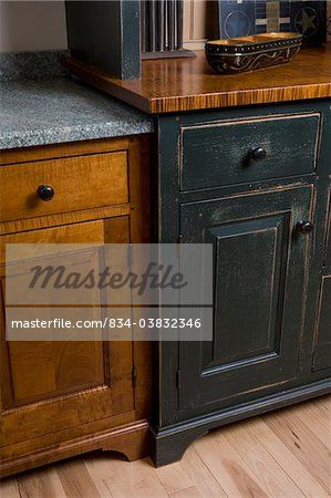 Period Style Cherry Kitchen Cabinetry