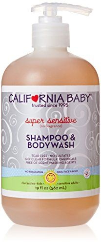 #promo #plasticsurgery Developed by a mother, #California Baby had your child's best interest at heart. No sulfates Non-Stripping Head-to-Toe Cleanser Recommende...