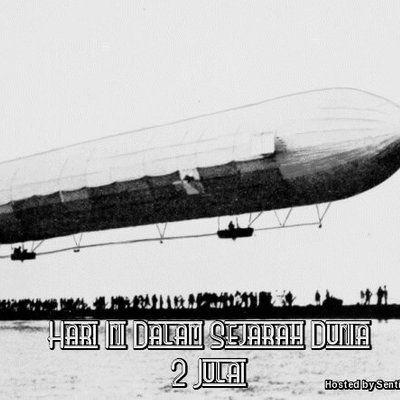 Peristiwa Penting Hari Ini Dalam Sejarah Dunia  Tarikh 2 Julai merupakan hari ke 183 dalam kalendar Gregory dengan tinggal 182 hari lagi sebelum memasuki tahun selepasnya Zeppelin awal Hari ini juga merupakan sambutan hari perayaan Martinian dan Processus Peristiwa 1644 Gabungan Covenant... Readmore: http://babab.net/feed/ http://ift.tt/2sf4Ooi Readmore: http://ift.tt/2tvklny http://ift.tt/2tE56ZV http://ift.tt/2tp9hsx