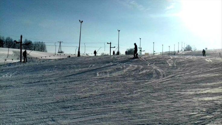 odkryj wałbrzych-stok narciarski-Przy Górze