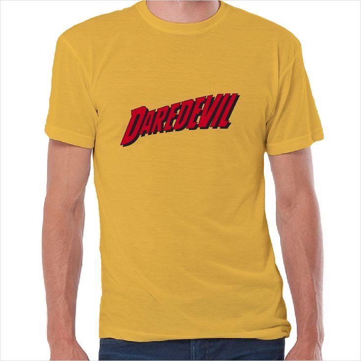 Camiseta superheroes logo Daredevil