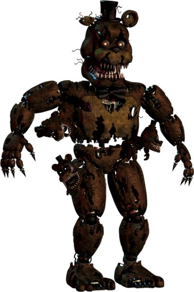 Five Nights at Freddy's 4 Nightmare Freddy | Png! by TheSitciXD on DeviantArt