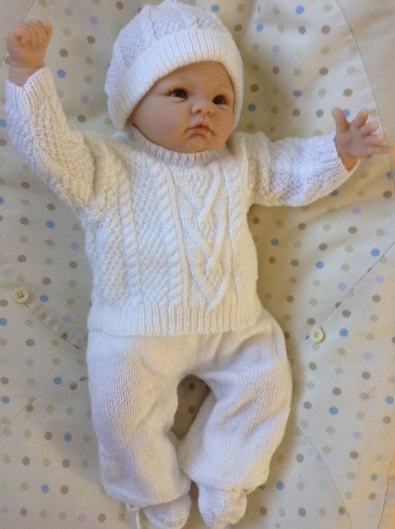 Newborn Coming Home Sweater Outfit or will by Meganknits4charity