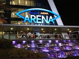 The SM Mall of Asia Arena, the country's premier event venue, with a full house capacity of 20,000