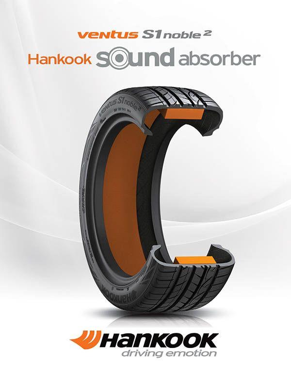 Ventus S1 noble2, Sound absorber, Hankook tire