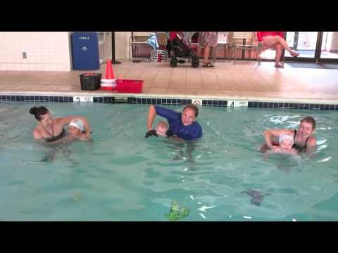 Baby Race at Swim Lessons