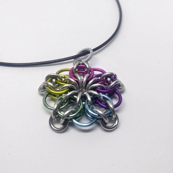 Handmade from high quality anodized metal, our chainmail jewelry is designed to be both light and strong with a long lasting color that we guarantee. Available custom sized, in 12+ colors and with free US shipping, Feel free to message us with any questions about custom orders or