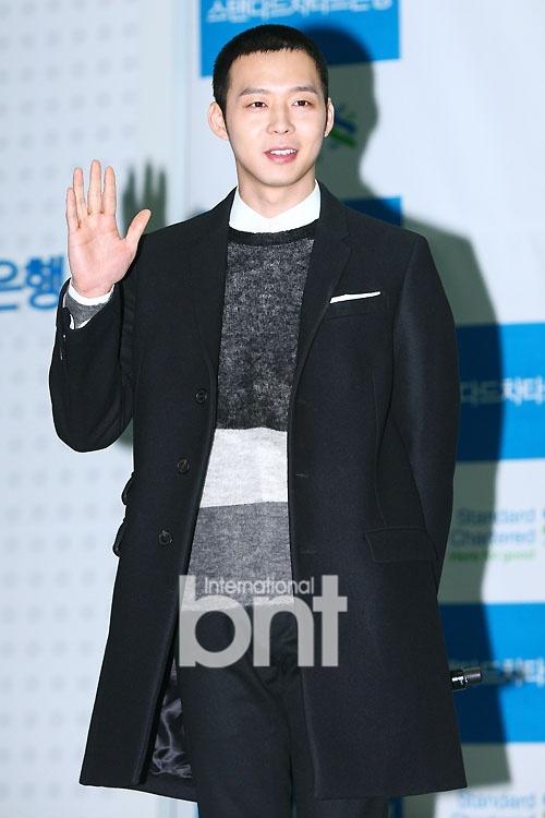 JYJ Park Yu chun had a hair cut