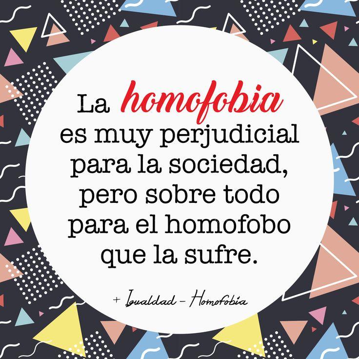 No a la Homofobia! Liberal Politics, Social Justice, Equality, Lgbt, Sad, Peace, Berry, Quotes, Frases