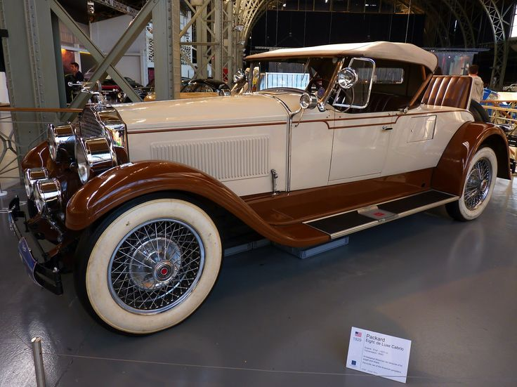 Packard Eight de Luxe Cabrio 1929