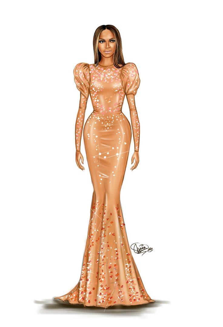 Beyoncé in Givenchy Met Gala Art 2016