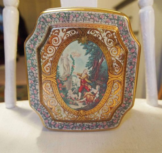 Guardian Angel Tea or Candy Tin by Meister from by APeaceofMyMind, $6.50