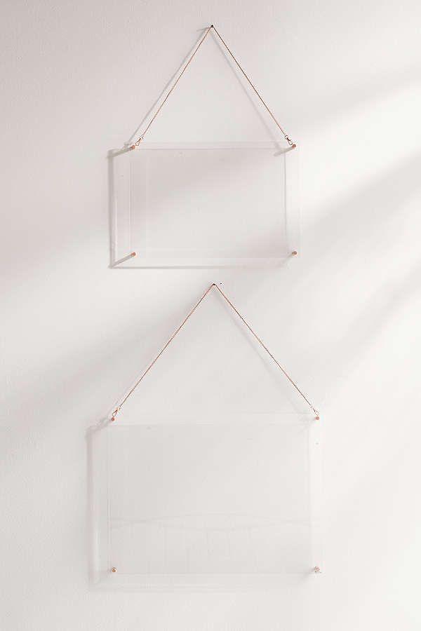 Slide View: 2: Acrylic Hanging Display Frame