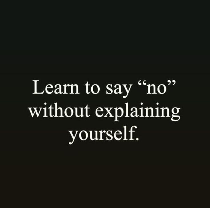DBT - interpersonal effectiveness. Learning to say no without explaining yourself is a very important skill. We have to try and practice sticking to our boundaries as an act of both self respect and self preservation. Remember that NO is a complete sentence. #dbtskills #boundaries #selfrespect