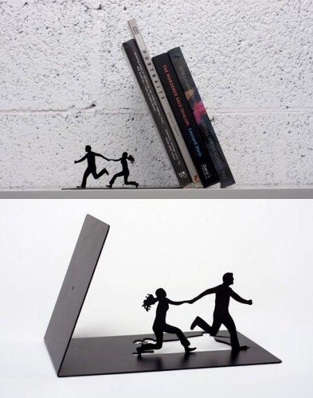Falling Bookends • Made by Artori Design