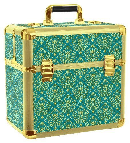 Roo Beauty Ltd Beauty Beauty Cases Mamba Imperial Nail Storage Box Make Up/ Cosmetic Vanity Storage Teal and Gold by Roo Beauty Ltd, http://www.amazon.co.uk/dp/B00BZ2WAUU/ref=cm_sw_r_pi_dp_aJR1sb1Q6JGE1  I am on the hunt for this beauty case!