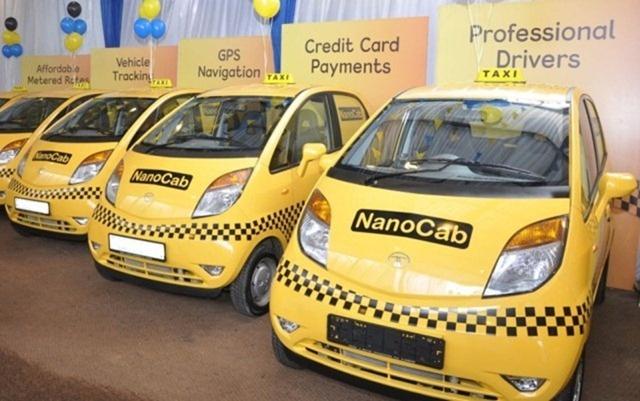 Tata Nano Taxi Cabs In Jammu And Kashmir