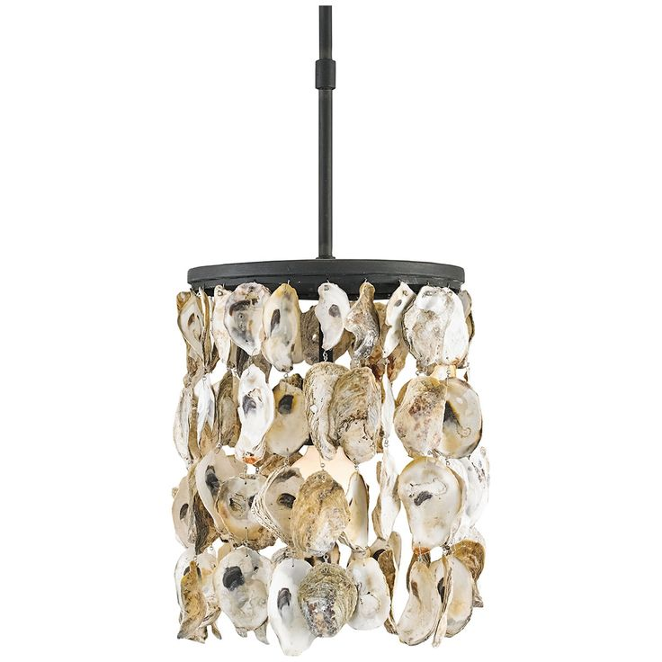 Currey And Company Stillwater Natural Shell Pendant 9250