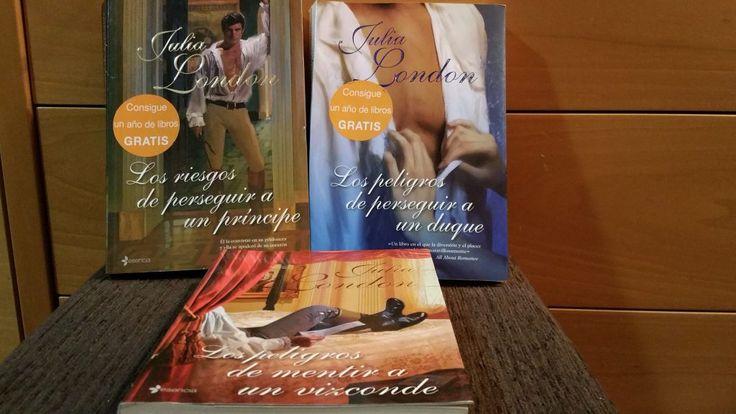 trilogía debutantes desesperadas #blogliterario #trilogía #JuliaLondon
