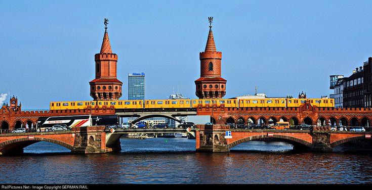 RailPictures.Net Photo: Berliner Verkehrsbetriebe (BVG) EMU at Berlin, Germany by GERMAN RAIL