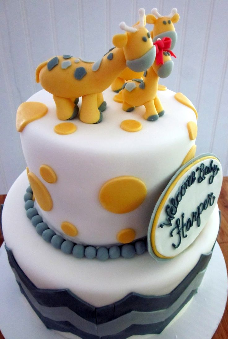 17 Best Images About Elephant Baby Shower Cake On