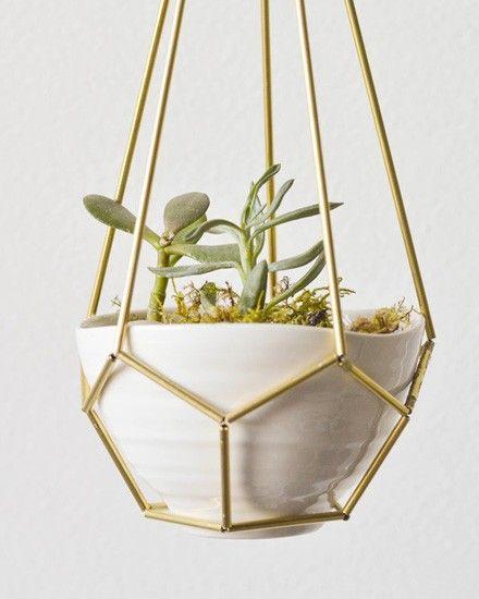 Shake My Blog | Une plante suspendue DIY