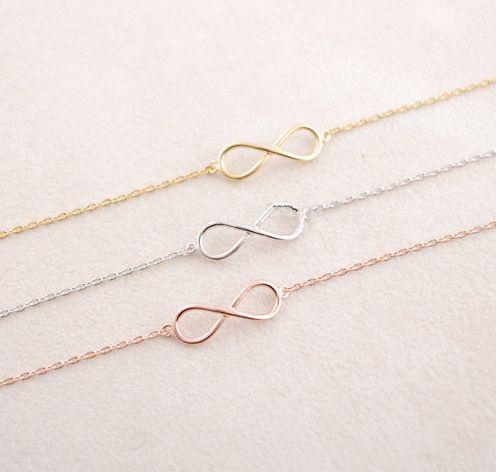 **Unendlich Armband gold ♥ Infinity, Unendlichkeitszeichen**  **Love yourself and your Eternity bracelet**. Dieses goldene Infinity Armband steht als Symbol der Unendlichkeit. Sei es in der...