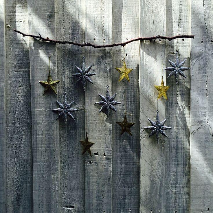 Xmas star sculpture by Geegan House