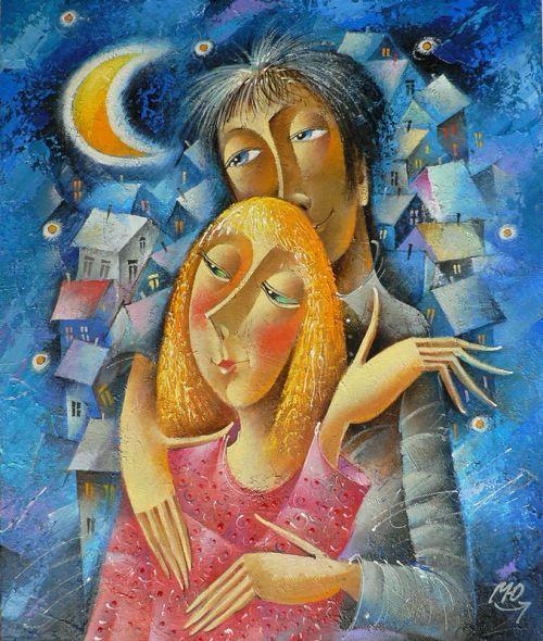 romantic peint