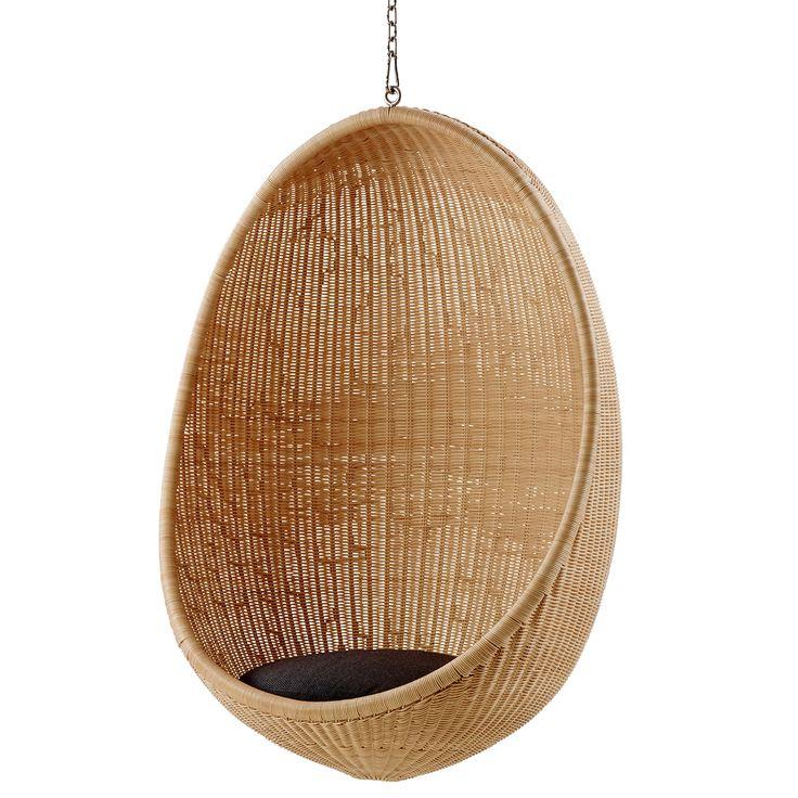Bomstad Golden Brown Accent Chair Wayfair: Hanging Egg Chair, Dark Grey Seat Cushion In 2020