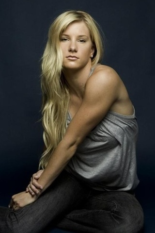 Heather Morris - I will get my arms like that again