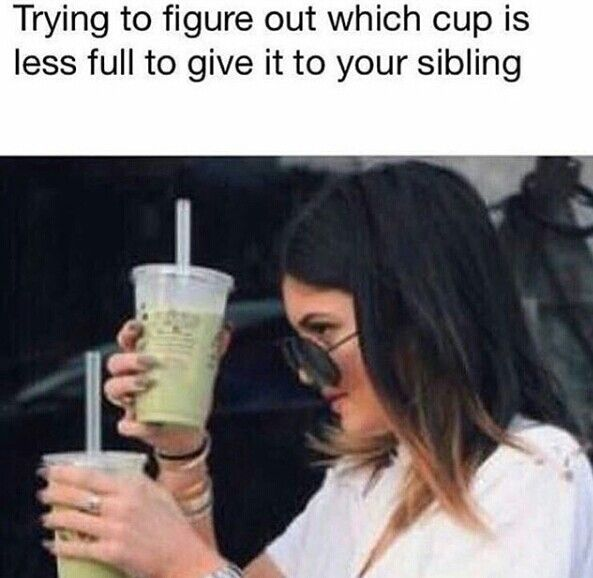 Yup, but I just drink some of theirs so it is lower, then give it to them..