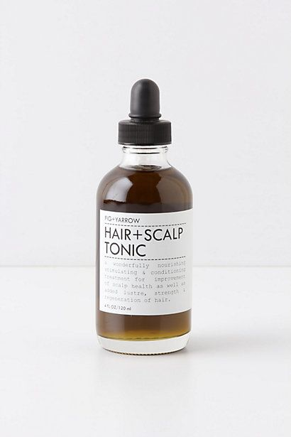 Fig   Yarrow Hair   Scalp Tonic #anthropologie, hair oil.