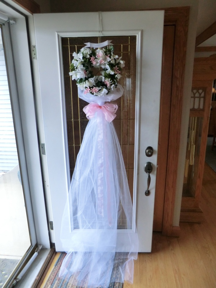 Bridal Shower Door Decoration Craft Ideas Pinterest