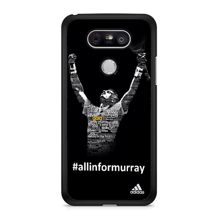 Andy Murray Tennis Champion Poster LG G6 Case Dewantary