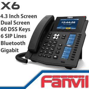 Fanvil X6 Dubai - http://www.vdsae.com/product/fanvil-x6-dubai/