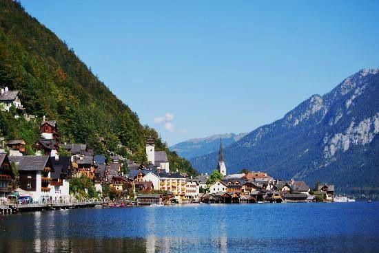 Hallstatt, Austria. Just like a fairytale.