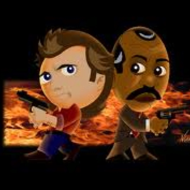 Riggs and Murtaugh From Lethal Weapon