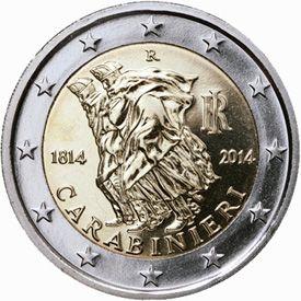 Diva Dea Weag / presentata moneta commemorativa del Bicentenario dell'Arma .200*Anniversario di  fondazione dell'Arma .....