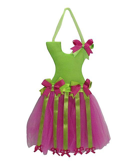 Green Princess Tutu Bow Holder