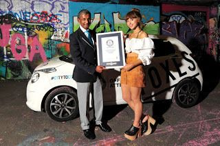 NGOUpdate: Foxes and Citroen scoop Guinness World Records tit...