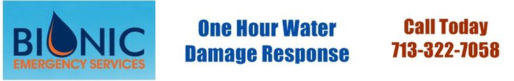 Let us clean up your water damage. We are fast and dependable with 1 hour response.