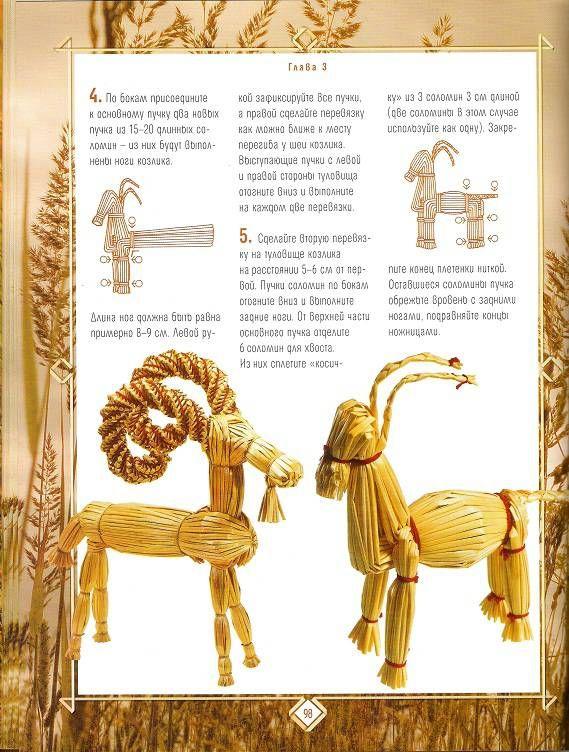 Иллюстрация 21 из 26 для Плетение из соломки: Техника. Приемы. Изделия | Лабиринт - книги. Источник: Oslik IA