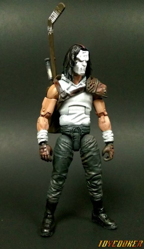 Casey Jones (Fwoosh Secret Santa) (Marvel Legends) Custom Action Figure