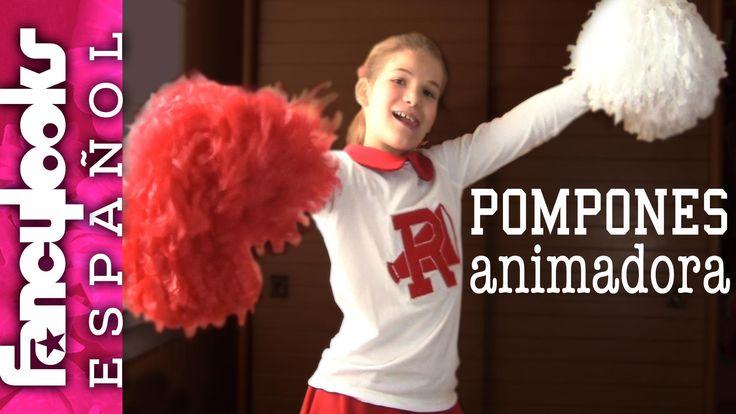 Pompones animadora: Disfraz Grease, Sandy Cheerleader