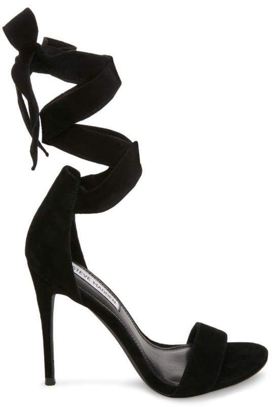 2f3657a485b ShopStyle Collective | Shoes | Stiletto heels, 4 inch heels, Black suede