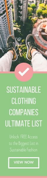 Ultimate List of Sustainable Clothing Companies